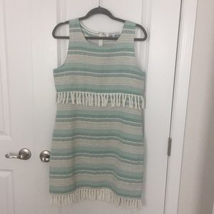 Cupcakes and Cashmere Tassel Dress NWOT